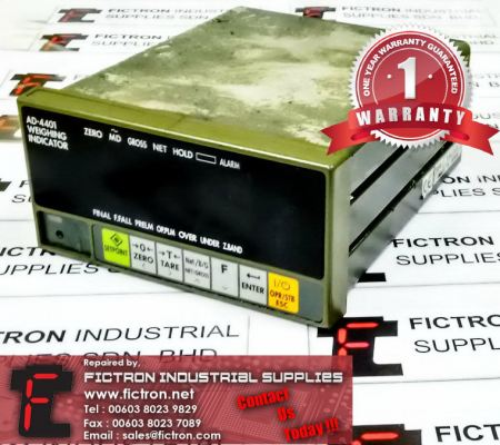 Repair Service Malaysia - AD-4401 A&D CO Weighing Indicator Singapore Indonesia Thailand Philippines