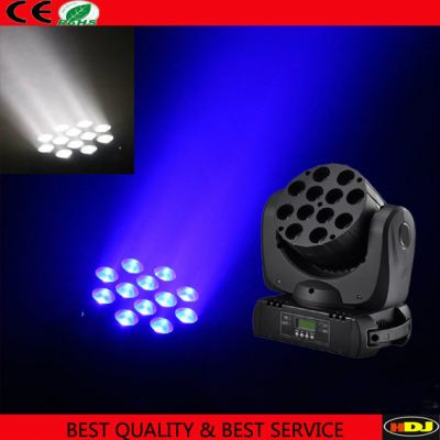 N-Y004 12pcs 10w Rgbw 4in1 Cree Led Beam Moving Head Stage Light Beam Moving