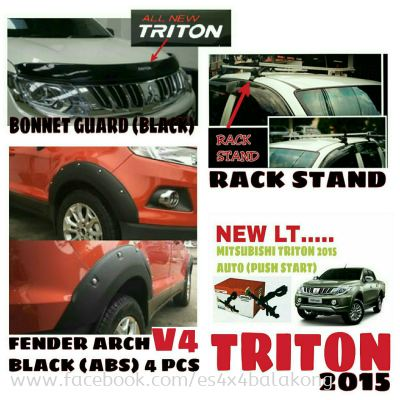 All new triton 2015 adventure accessories, Canopy, Roll bar, Lock teck, Head and tail lamp cover