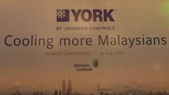 YORK BY JOHNSON CONTROLS 'COOLING MORE MALAYSIANS' DEALER CONFERENCE AND GALA DINNER 4 JULY 2015