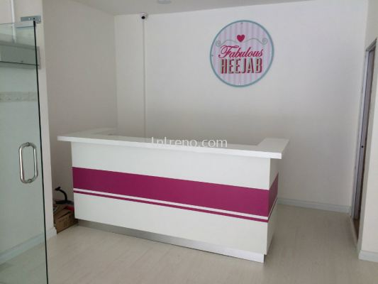 Boutique cashier counter and reception counter (FREE QUOTATION)