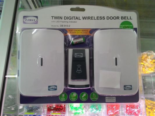 Twin Digital Wireless Door Bell