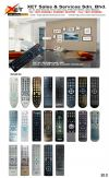 XRC-320-200 SANYO UNIVERSAL ALL IN 1 LCD/LED TV REMOTE CONTROL XRC UNIVERSAL LCD/LED TV REMOTE CONTROL