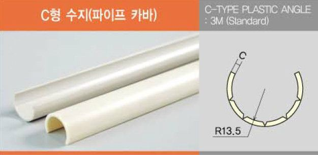 C-Type Plastic Angle Accessories Metal Accessories