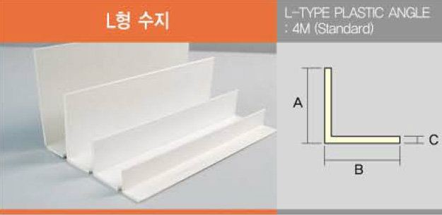 L-Type Plastic Angle Others Accessories