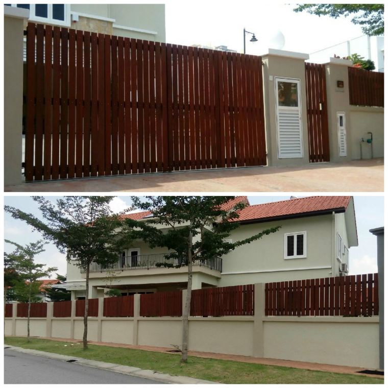 CHENGAL SOLID WOOD FENCE / GATE