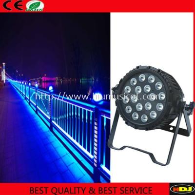 N-P022 18pcs RGBWA 5 in 1 LED waterproof par light