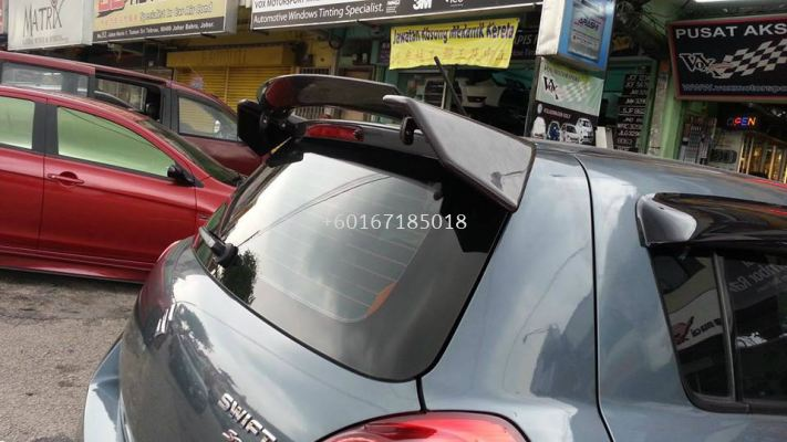 suzuki swift sport zc31s craft style spoiler for swift add on upgrade craft style performance look frp material new set