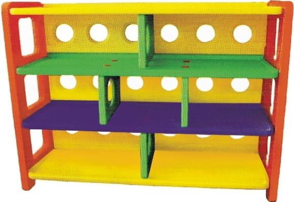 QBL52C Plastic 7 Compartment Storage Shelf