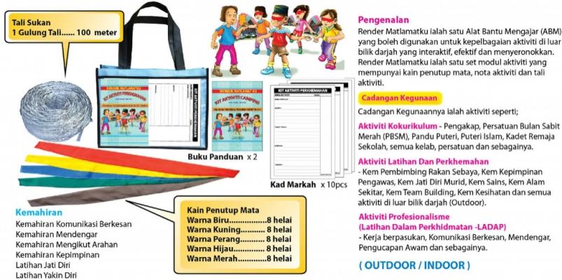 ITKK-044 Render Maklamatku (Kit Aktiviti Perkhemahan)