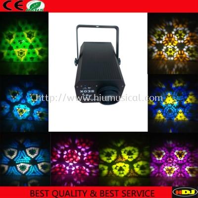 N-X035 LED  kaleidoscope effect 3 light for nightclub