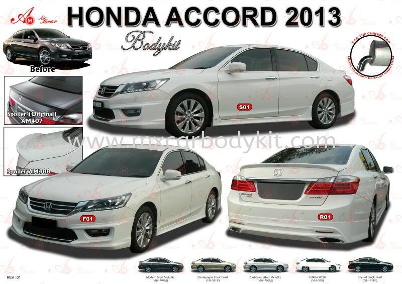 HONDA ACCORD 2013 AM STYLE BODYKIT + SPOILER ACCORD 2013 HONDA Johor, Malaysia, Johor Bahru (JB), Masai. Supplier, Suppliers, Supply, Supplies | MX Car Body Kit