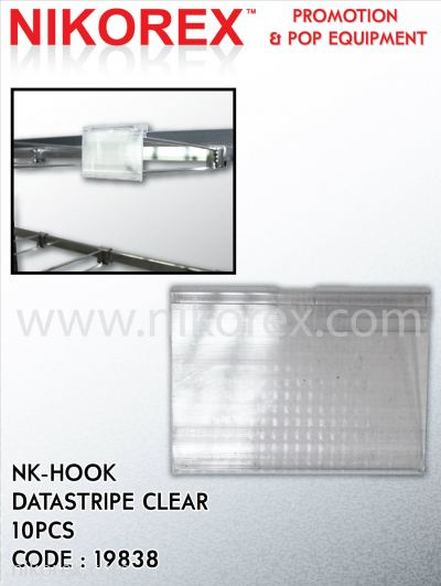 663001CL - HANGING TAG 35x70mm (CLEAR - 10PCS)