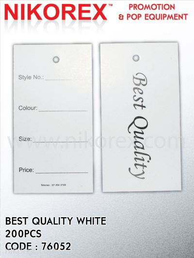 644101 -BEST QUALITY-WHITE-200PCS
