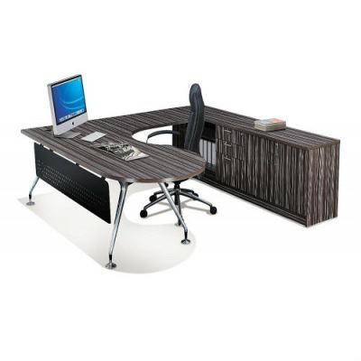 Director Desk VI (P-Shape)