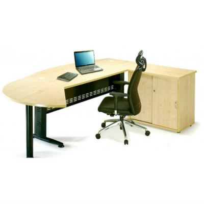 Executive Office Desk IX (QMB 180A)