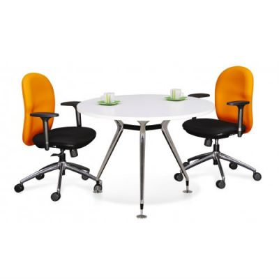 Round Discussion Table (Model:Abies Leg)