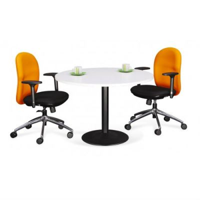 Round Discussion Table (Model:Drum Leg)