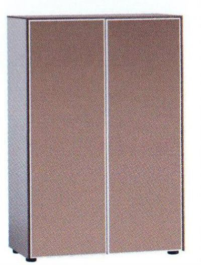 UNIQ Series Medium Cabinet I (Glass Door with Stopper)