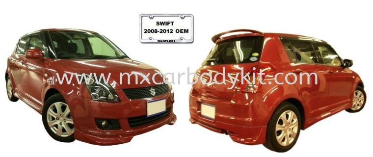 SUZUKI SWIFT 2008-2012 OEM BODYKIT SWIFT 2004 - 2011 SUZUKI