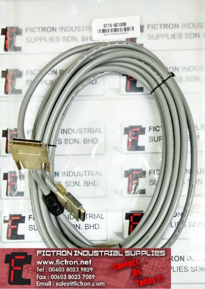 GT15-QC100B MITSUBISHI ELECTRIC GOT Cable Supply Malaysia Singapore Thailand Indonesia Philippines Vietnam Europe & USA