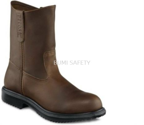 Red Wing's 8241 Men��s 9-Inch Pull-On Boot Brown