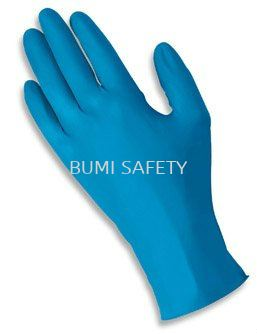 Ansell TNT Blue Nitrile Disposable Glove 92-670