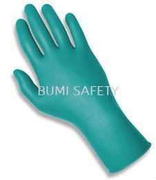 TNT Green Nitrile Disposable Glove