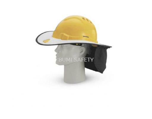 INDUSTRIAL SAFETY HELMET SUNSHADE HELMET