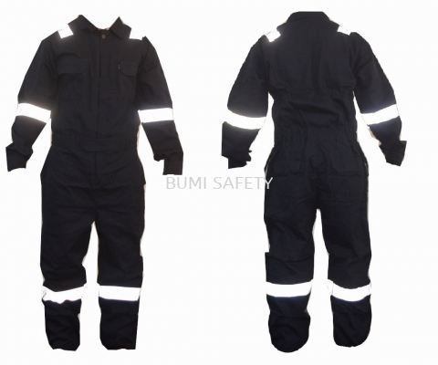 100% Cotton Coverall Navy Blue
