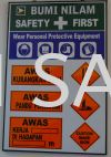 CUSTOM MADE BORD Safety Signage