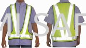 Executive V-Vest (Green) Safety Vest Safety Vest / Traffic Control