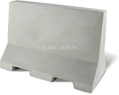 SAFETY- CONCRETE BARRIER