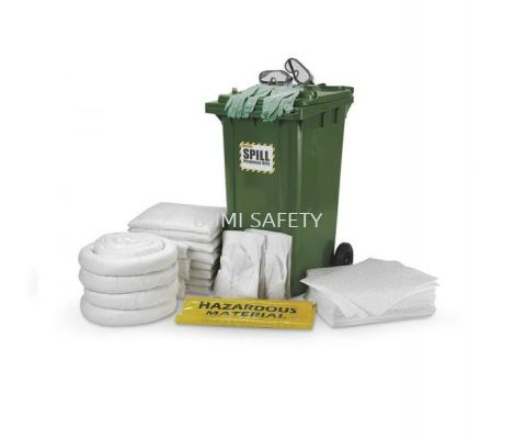 240 Liter Dispenser Cart Spill Kit - Oil only