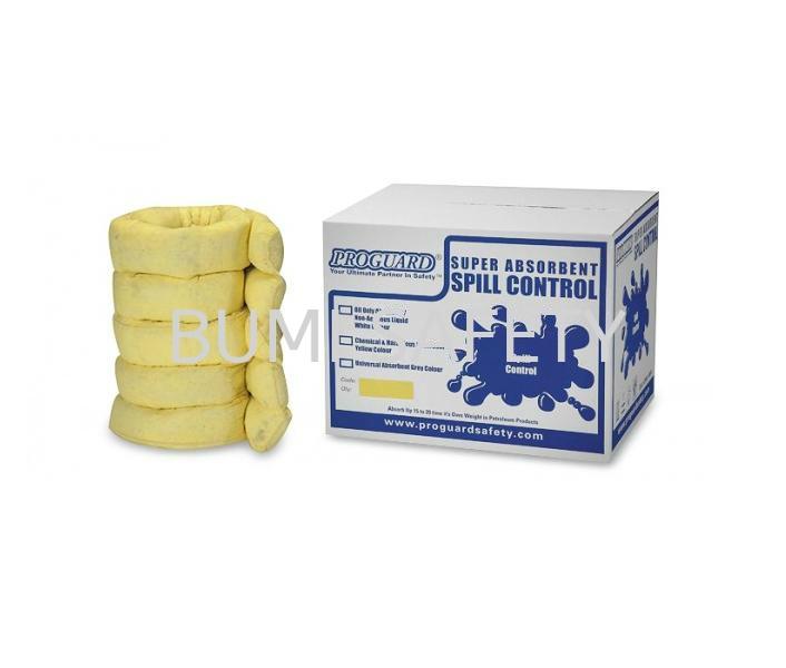 Sorbent Sock - Chemical Spills Control Selangor, Kuala Lumpur (KL), Puchong, Malaysia Supplier, Suppliers, Supply, Supplies | Bumi Nilam Safety Sdn Bhd