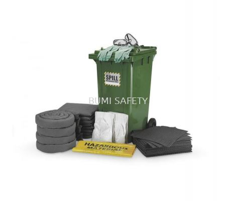 240 Liter Dispenser Cart Spill Kit - Universal