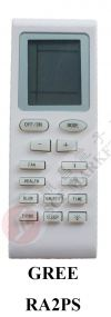 GREE RA2PS AIR CONDITIONER REMOTE CONTROL