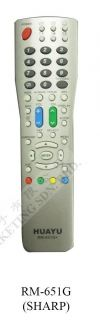 RM-651G (SHARP) LCD/LED TV REMOTE CONTROL