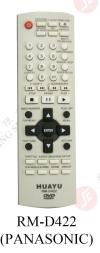 RM-D422 (PANASONIC) DVD REMOTE CONTROL