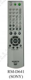 RM-D641 (SONY) DVD REMOTE CONTROL