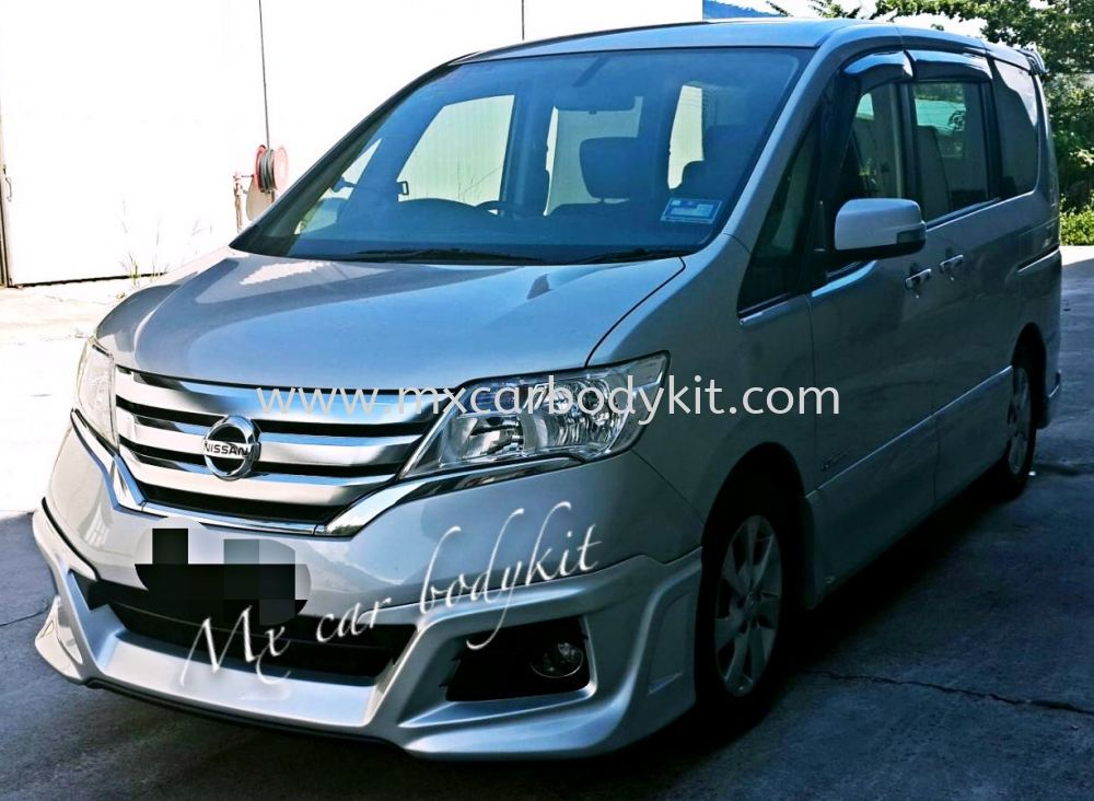 nissan serena 2013 impul body kit spoiler serena 2013 nissan johor malaysia johor bahru jb. Black Bedroom Furniture Sets. Home Design Ideas