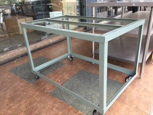 STAND C/W WHEEL FOR DECK OVEN