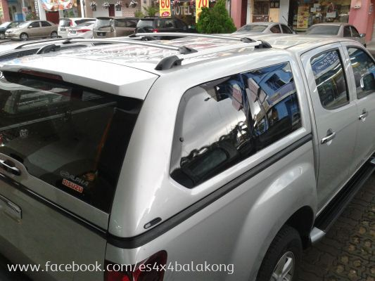 ALPHA GSE CANOPY FOR ISSUZU D MAX 4X4 CAR