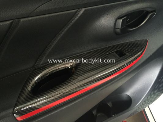 TOYOTA VIOS 2013 CARBON FIBER DOOR HANDLE COVER