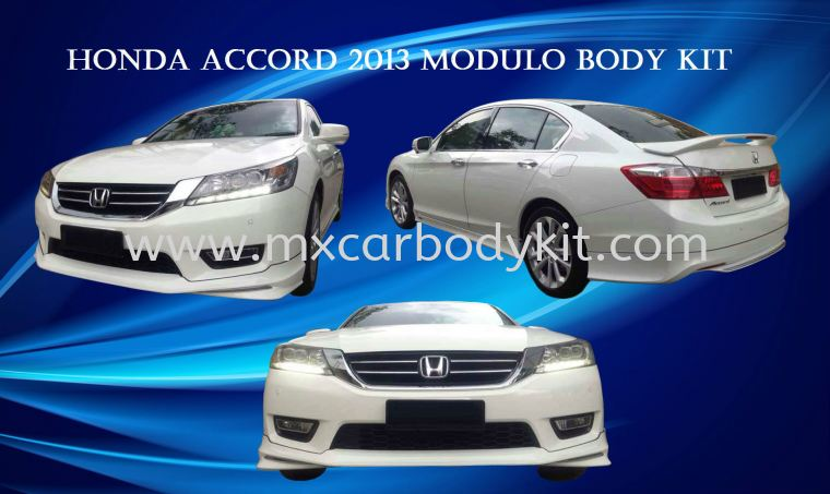HONDA ACCORD 2013 MODULO BODY KIT + SPOILER  ACCORD 2013 HONDA