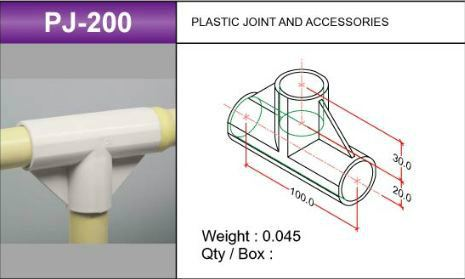 PJ-200 Plastic Joints