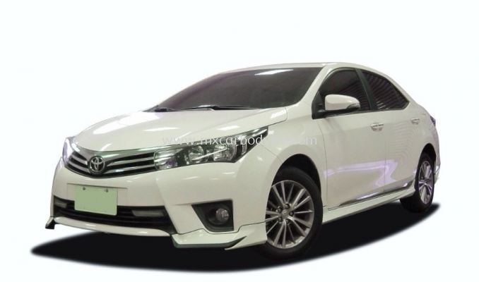 TOYOTA ALTIS 2014 Z SPEC BODY KIT + SPOILER