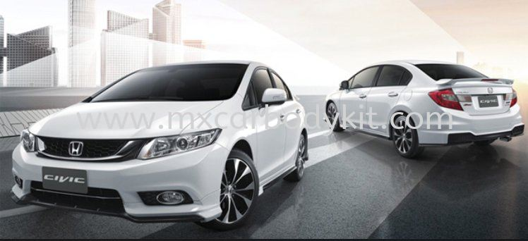 HONDA CIVIC 2012 MODULO (THAILAND DESIGN) BODY KIT + SPOILER  CIVIC FB 2012 - 2015 HONDA
