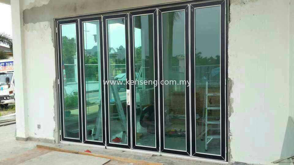 High Performance Folding Door Door Johor Bahru JB Skudai Renovation ...