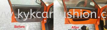 Car Door Panel Leather Refurbish Proton Car Door Panel Leather